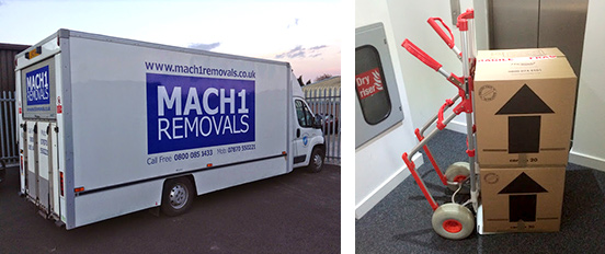 Home removals Chesterfield, Derbyshire